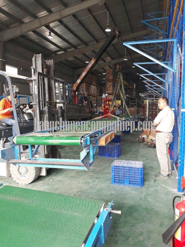 Băng chuyền tại khu công nghiệp An Hạ